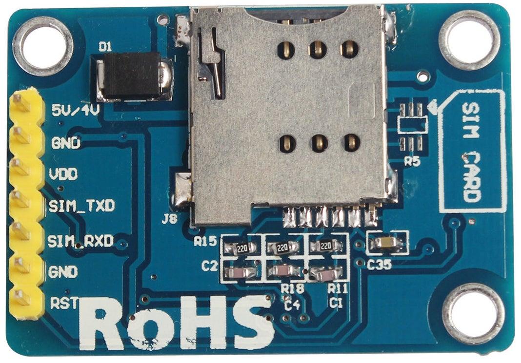 基于SIM800LV2SMS控制器的制作