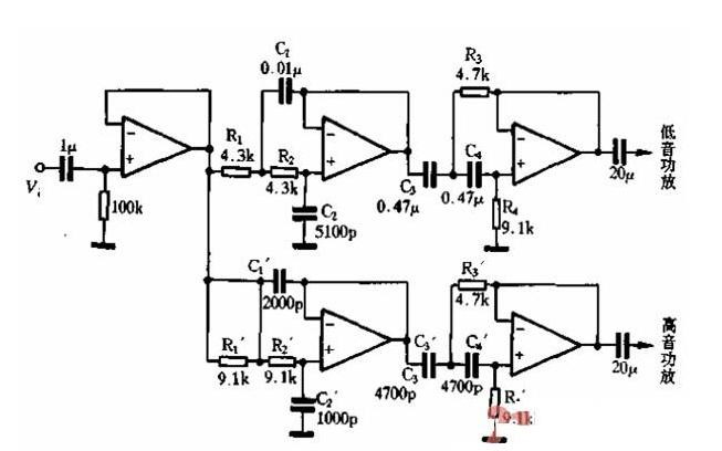 使用Multisi平台分析二阶低通滤渡器电路的详细资料说明