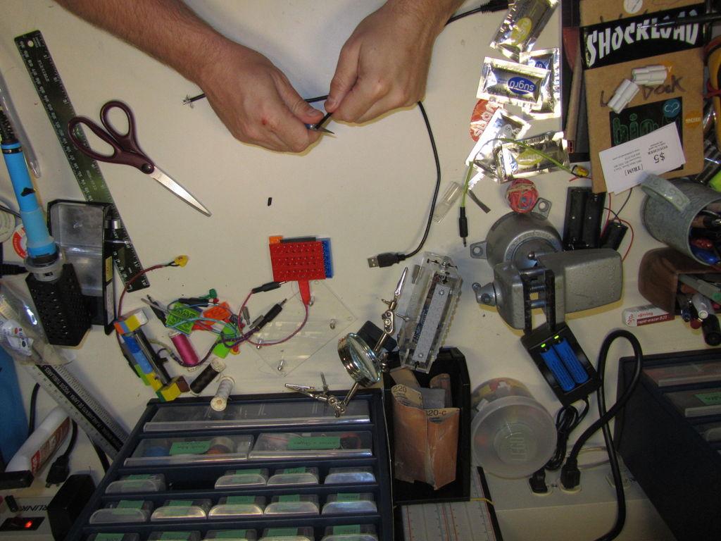 USB供电设备开关的制作