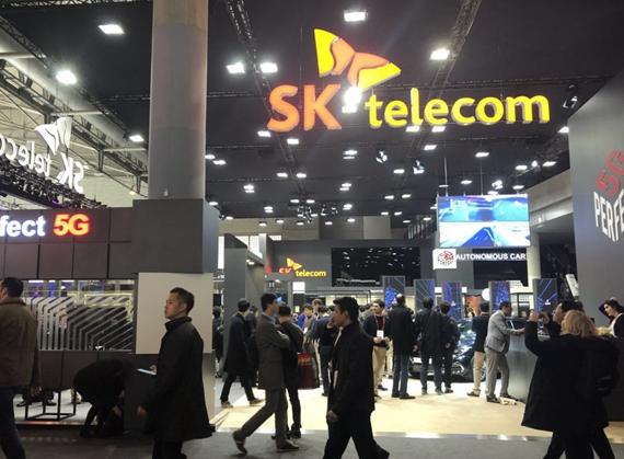 SK电讯已占据了韩国5G移动用户市场的首位其市场份额达到了40.8%