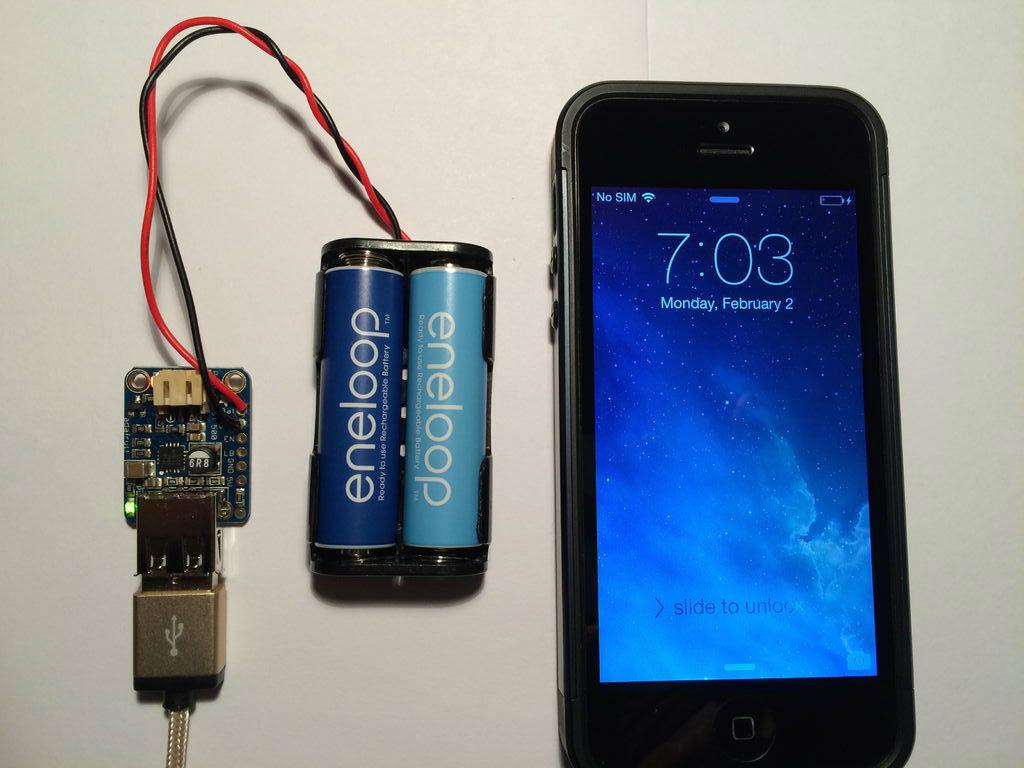 高效AA充电器的制作教程