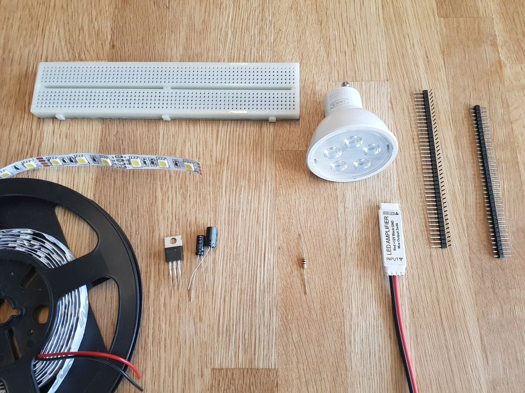 简易LED条带调光器的制作教程