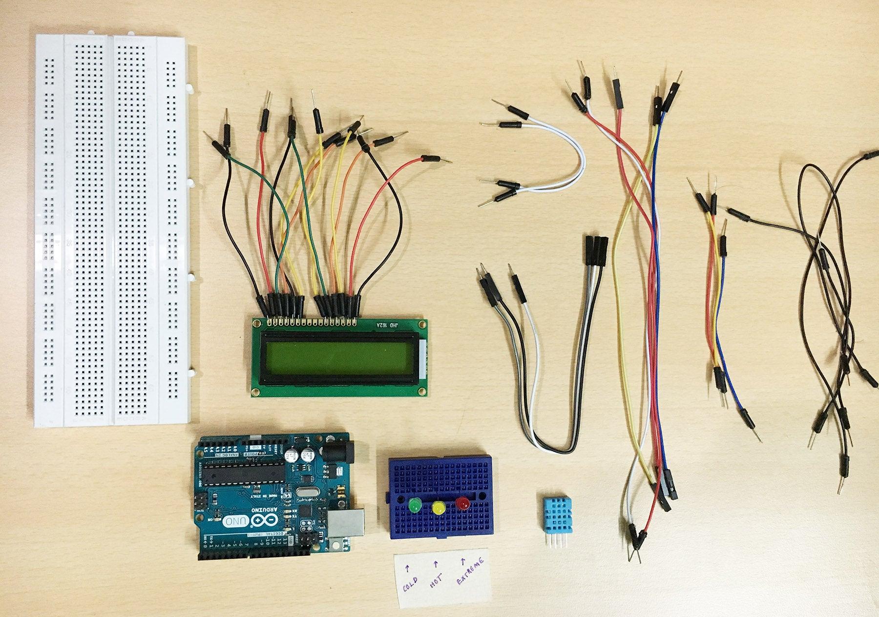 如何将16 x 2 LCD显示器连接到Arduino