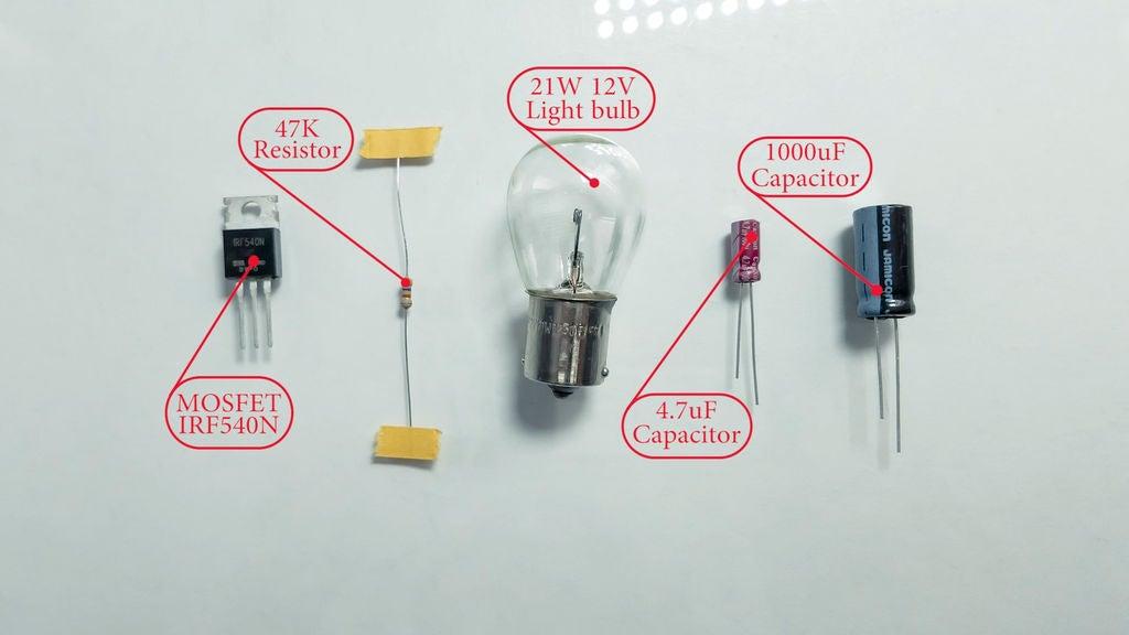 超簡易音頻放大器的制作