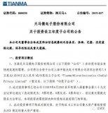 天马微电子拟投资7.4万美元在印度设立子公司