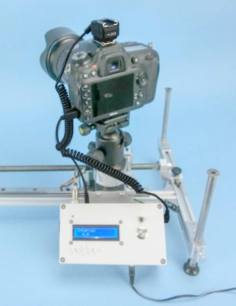 如何使用Arduino驱动的步进电机来驱动时间推移轨道