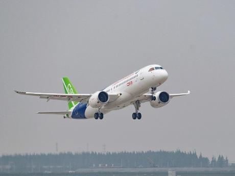 国产大型客机C919已进行了多地试飞行并进入了取证阶段