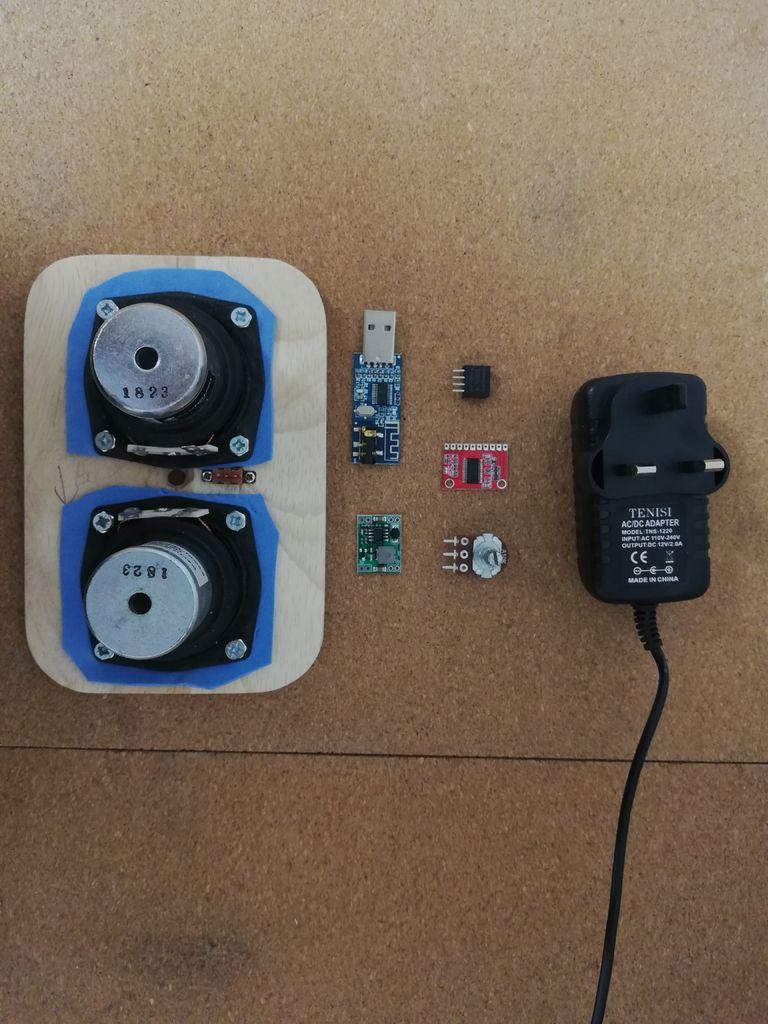 如何制作混凝土传输线蓝牙音箱