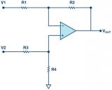 技术 | 内置增益设置电阻的放大器与分立差动放大器的区别