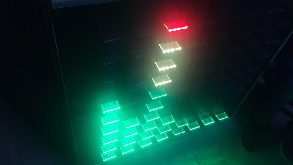 如何用480個LED實現音樂可視化