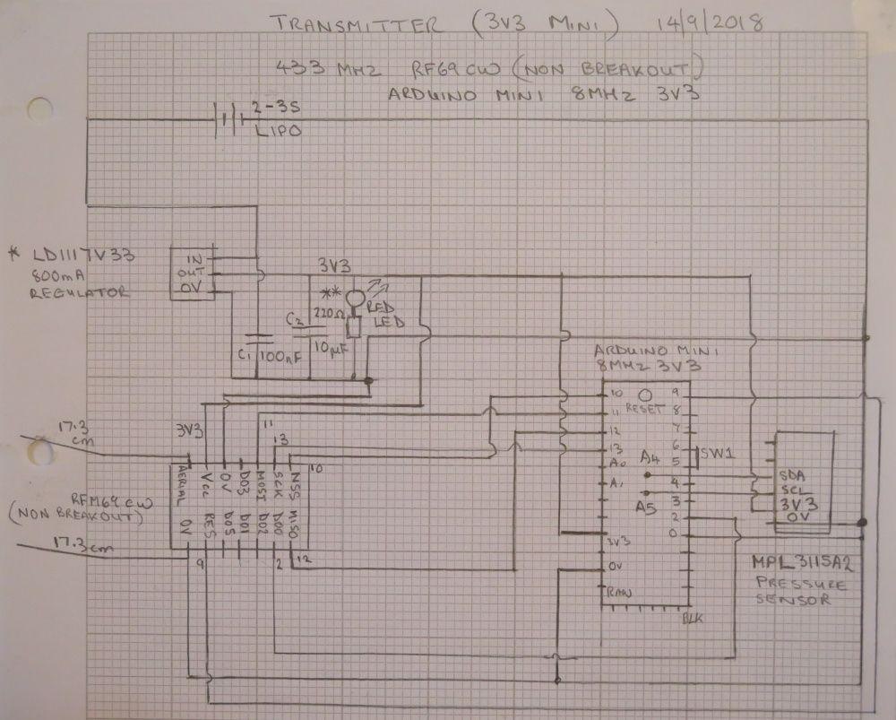 Arduino无线高度发射器的制作