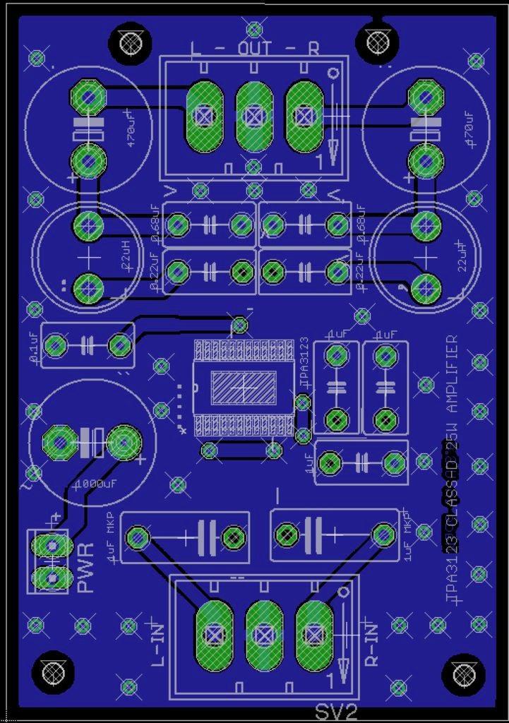 便攜式立體聲D類音頻功率放大器的制作教程