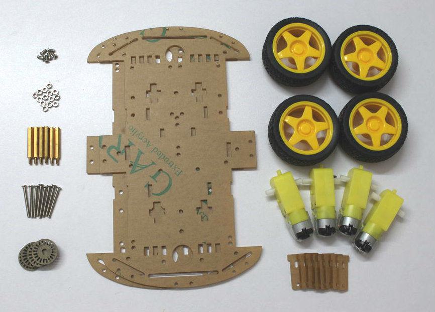 如何制作智能手机控制的Arduino机器人车