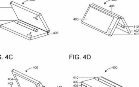 微软展示具有灵活触控笔的双屏设备