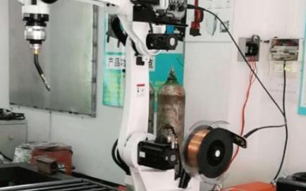 遥控操作的焊接机器人控制系统组成结构