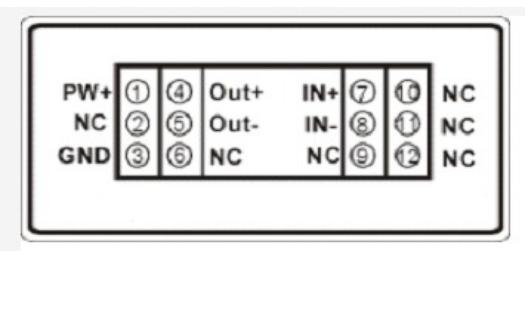 单输入单输出信号隔离变送器的数据手册免费下载