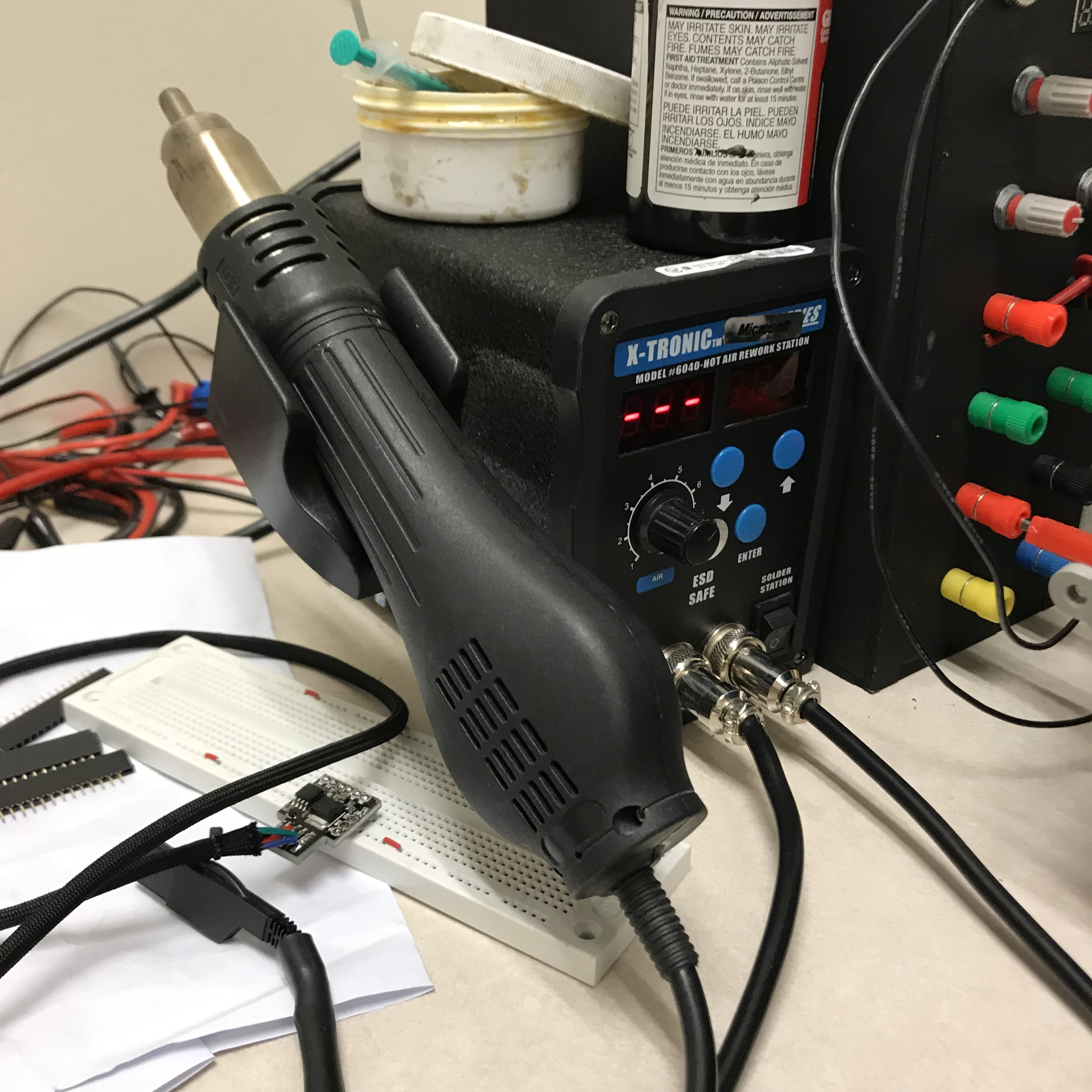 心型LED电路的制作