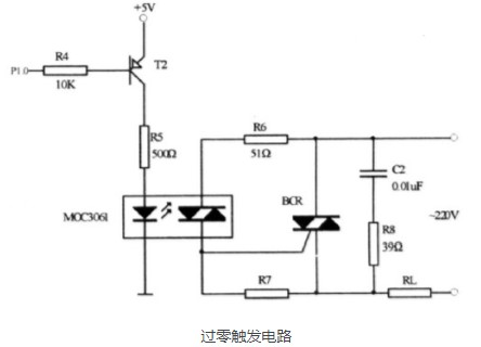 双向可控硅过零触发电路的工作原理及应用