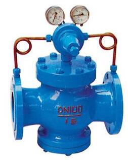 氣體減壓閥的工作原理