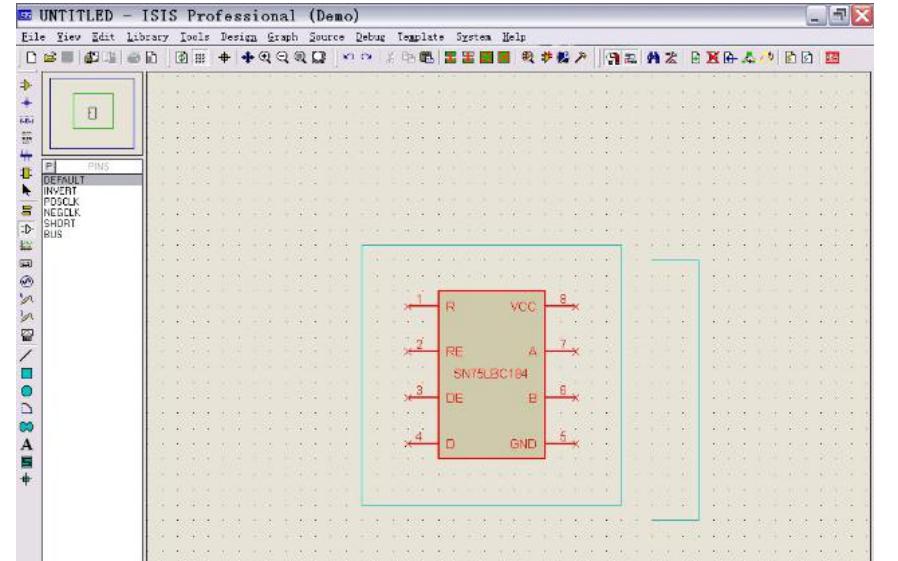 使用Proteus制作元器件的实例说明