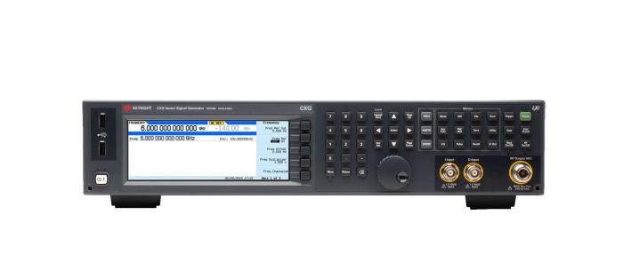 是德科技推出了最新射頻矢量信號發生器