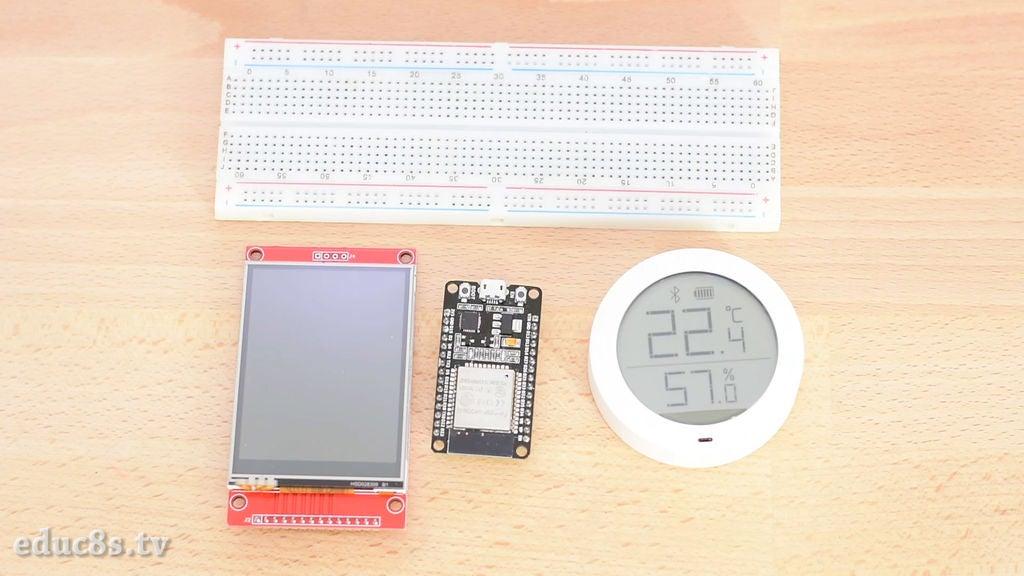 如何使用ESP32板的蓝牙功能获取小米温湿度监测...