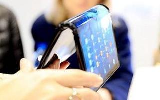 全球首款可折疊的柔性觸控屏手機FlexPai
