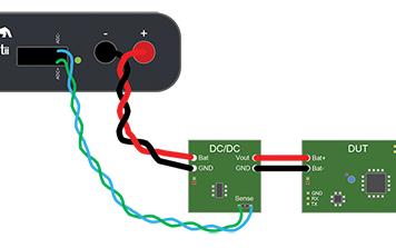 案例研究:特征化 TI DC/DC 转换器