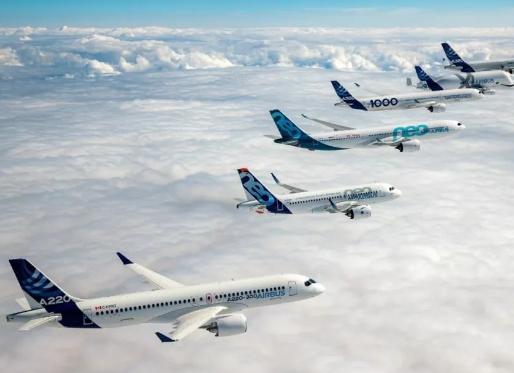 空客公司7月份收获33架飞机订单并向41家客户交付了69架飞机
