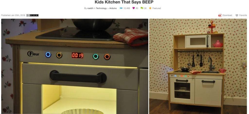 儿童厨房灯Mod的制作