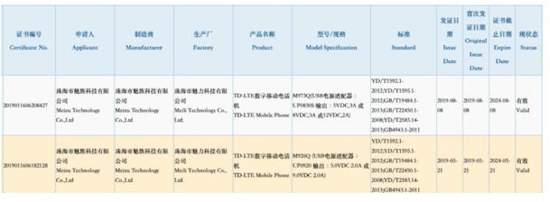 魅族16s Pro已通过3C认证该机搭载骁龙855芯片配备了后置三摄