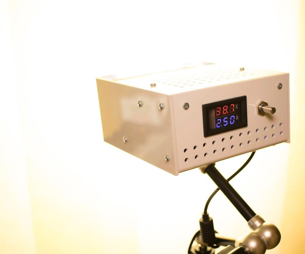 100W高CRI LED灯的制作