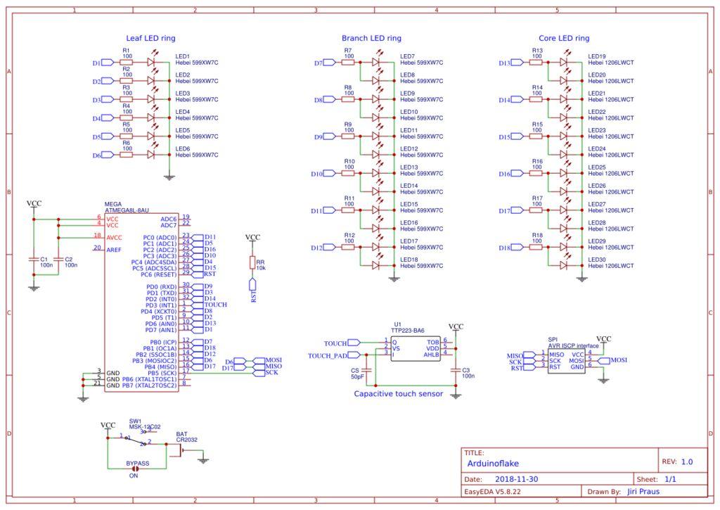 Arduinoflake的制作教程