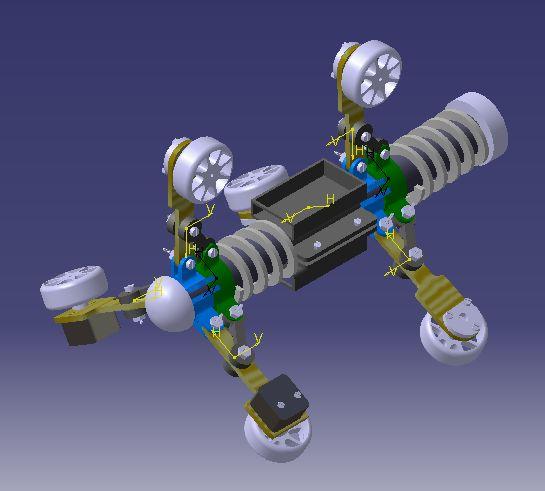 管道檢測機器人的制作