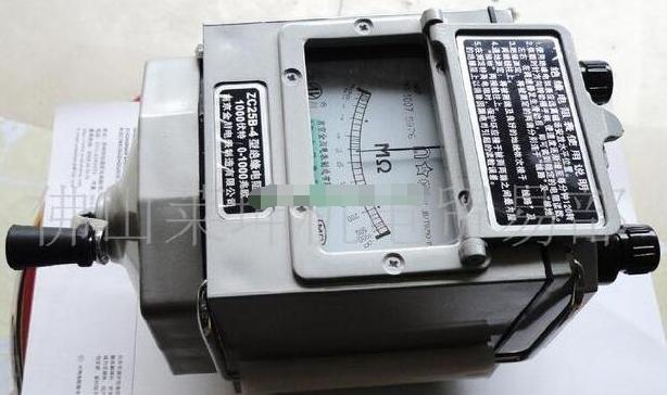 测量电机的绝缘电阻