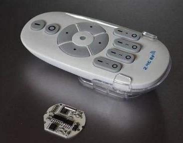 无线遥控灯具的结构及安装使用方法