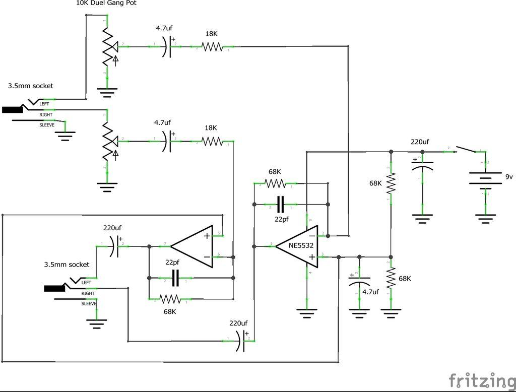 如何制作耳机放大器