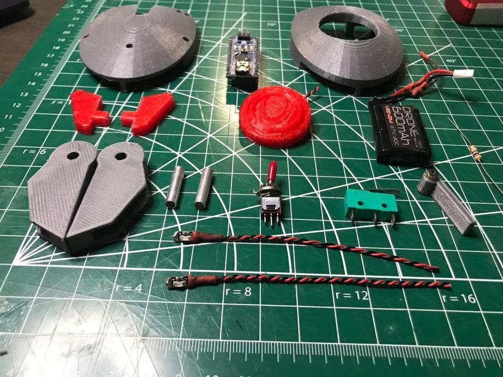 便攜式Arduino機器人的制作方法