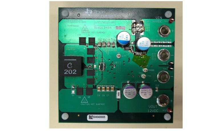 PMP21278 适用于工业PC的300W电源开关降压控制器的测试报告免费下载