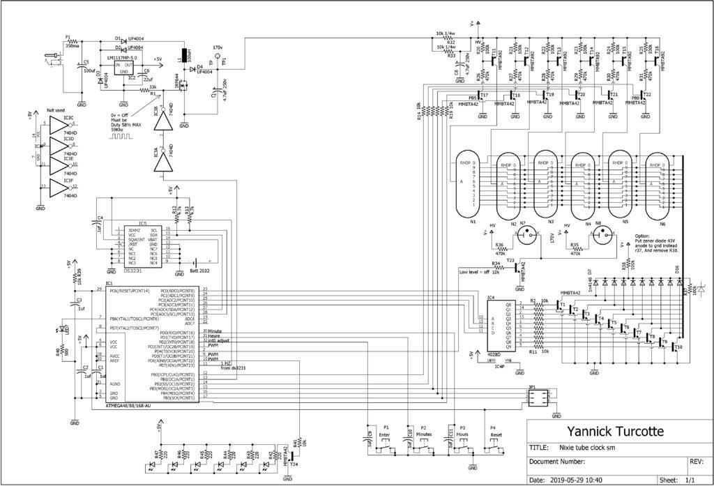数码管时钟DIY图解