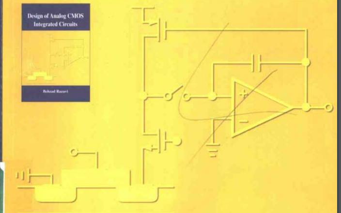 CMOS模拟集成电路设计PDF电子书免费下载