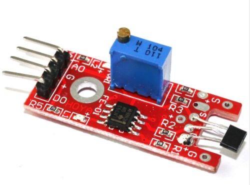 如何使用霍爾效應傳感器和簧片開關制作風速計