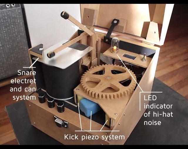 Arduino机器人鼓手DIY图解