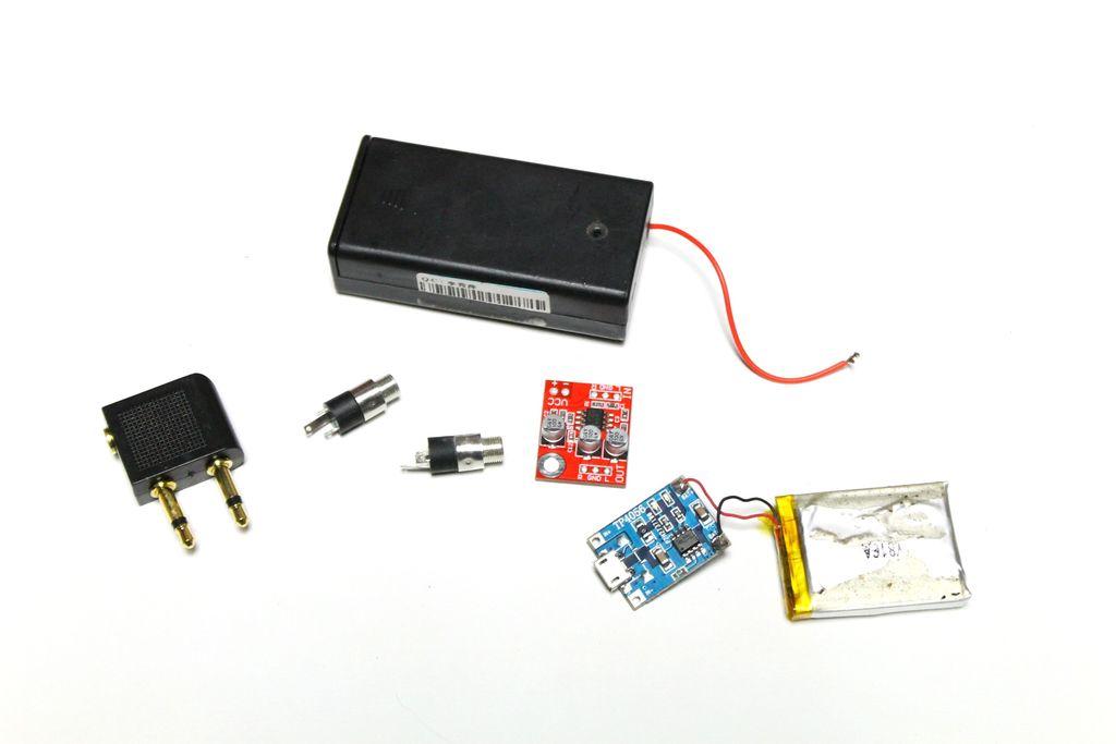 小型耳机放大器的DIY图解