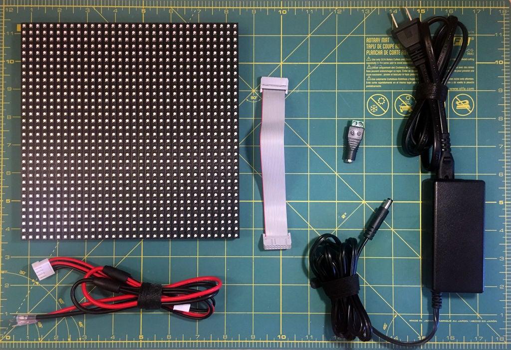 怎样用LED矩阵作为扫描仪
