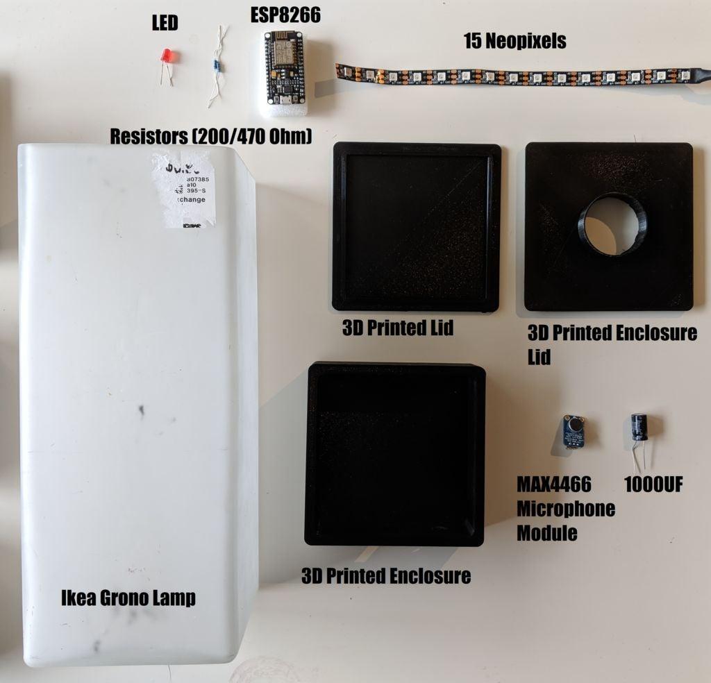 如何将标准的IkeaGrono灯变成Wifi控制...