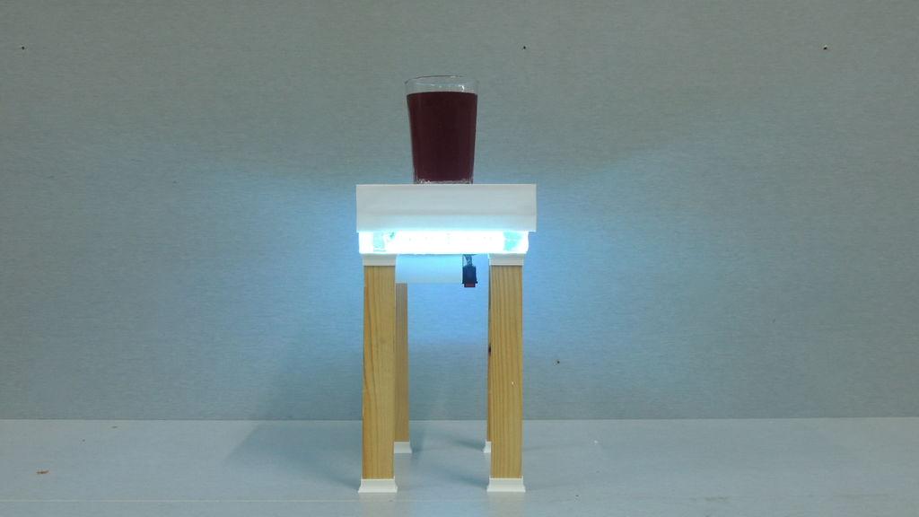 智能咖啡桌的制作