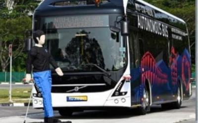 沃爾沃研發出世界第一輛全自動新能源公交車