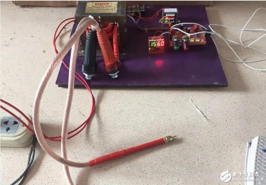 微波炉变压器制作点焊机