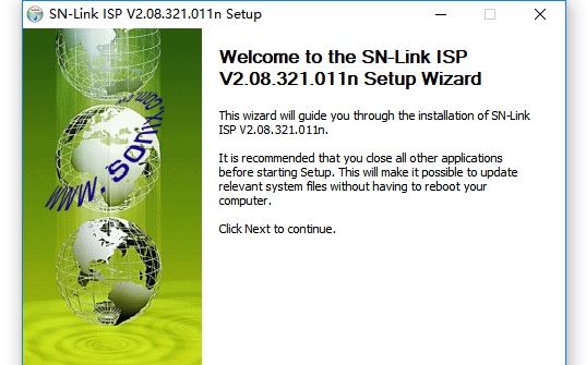 松翰单片机仿真器SN Link ISP V2.02应用程序免费下载